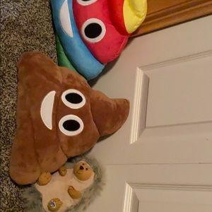 Random stuffed animals